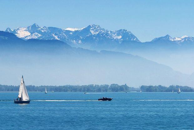Jezioro Bode�skie - jedno z najpi�kniejszych w Europie