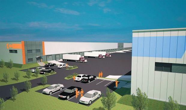 Nowe centrum logistyczne dla firm z Europy powstaje na 14 ha w Dąbiu