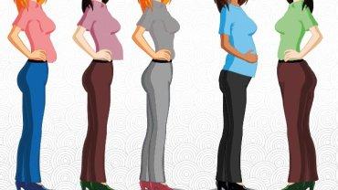 Typ brzucha może zależeć od różnych czynników. Który jest najbardziej podobny do Twojego?