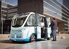 Autonomiczne autobusy firmy Navya