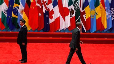 Prezydentowie Barack Obama i Xi Jinping na szczycie G20 w Chinach