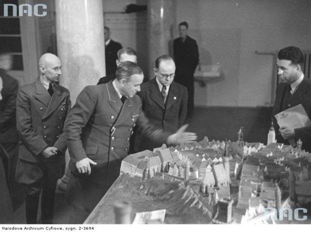 Hitlerowcy zbudowali makietę Lublina. Oto jej nigdy niepublikowane zdjęcia