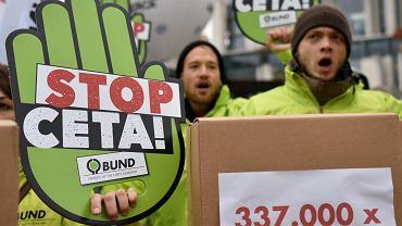 Protest przeciwko CETA w Niemczech