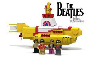 Firma Lego wypuści specjalny zestaw klocków Lego. Zabawki powinny spodobać się fanom The Beatles.
