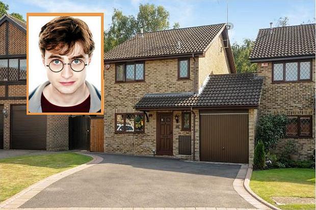 Dom Harrego Pottera wystawiony na sprzedaż