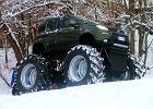 Fiat Panda w wersji Monster Truck | Wideo