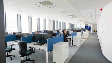 Biurowiec Quattro Five. Siedziba Centrum Usług Wspólnych Zurich Insurance Group