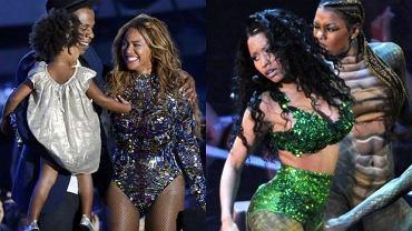 Beyonce, Jay Z i Blue Ivy, Nicki Minaj