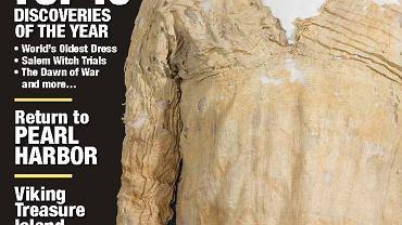Magazyn 'Archaeology' z odkryciami roku 2016