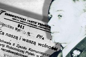 """""""Łajdak, szpieg, zdrajca partii"""" i metoda śledcza """"konwojer"""". Jak przesłuchiwano głównego kwatermistrza Wojska Polskiego"""