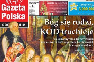 """""""Gazeta Polska"""" w iście """"świątecznym"""" nastroju. Zwykła okładka? Spójrzcie na ten tytuł"""