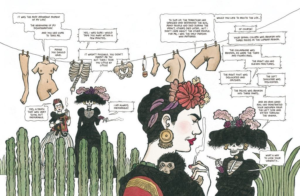 frida her life Filled with esoteric doodles, kahlo's diary is an intimate record of the last decade  of her tortured life.