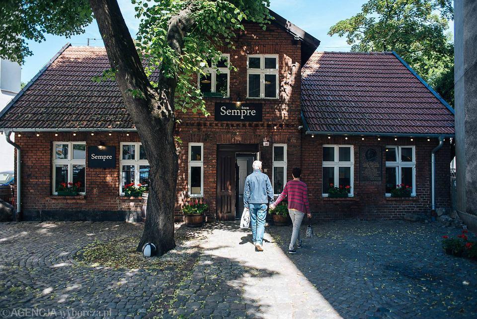Restauracja Sempre w Domku Abrahama w Gdyni