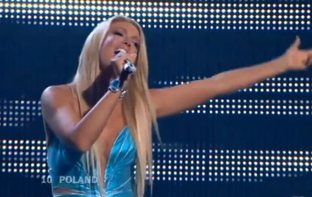 Isis Gee na Eurowizji w 2008