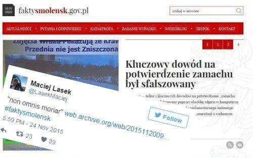 Strona zespołu Maciej Laska