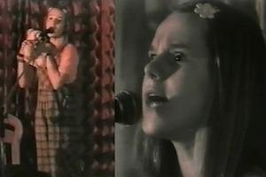 Nastoletnia Doda �piewa piosenk�. W bardzo sugestywny spos�b...