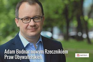 """Adam Bodnar nowym rzecznikiem praw obywatelskich. """"Chc� tchn�� w urz�d nowego ducha i energi�"""""""