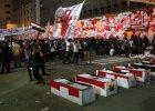 Starcia mi�dzy demonstrantami w Kairze, s� ranni