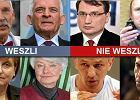 Oni będą nas reprezentować w europarlamencie. 51 nazwisk [WESZLI, NIE WESZLI]