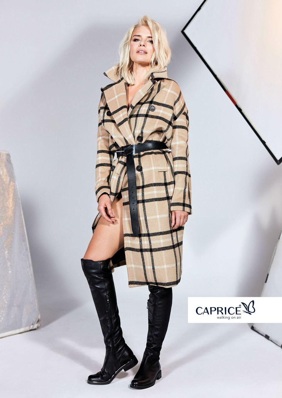 Natasza Urbańska w kampanii Caprice jesień-zima 2018/2019