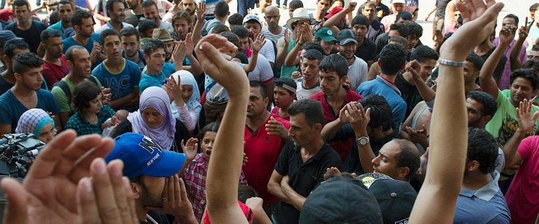 Kryzys w Budapeszcie: w�adze zablokowa�y dworzec Keleti dla imigrant�w