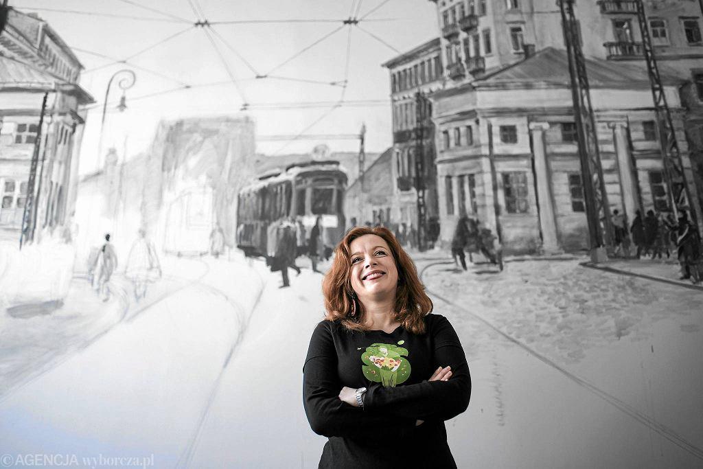 Anna Gólal, założycielka Cafe PoWoli i spółdzielni Socjalnej 'WOLA' / ADAM STĘPIEŃ