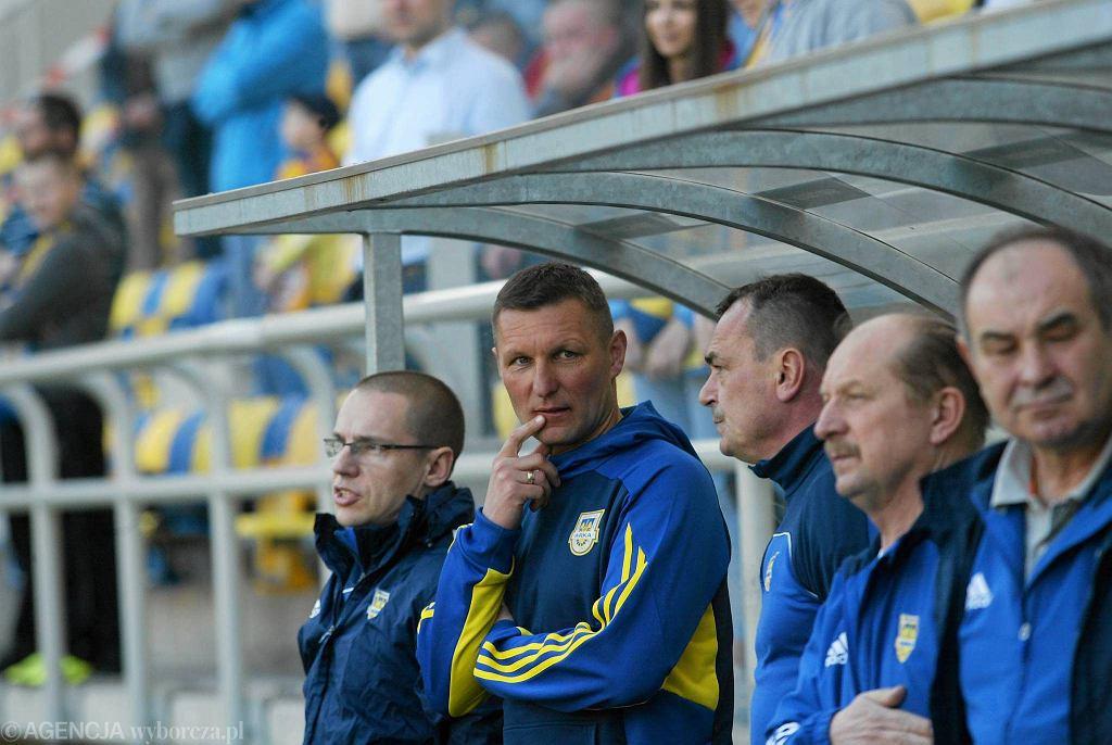 Trener Grzegorz Niciński