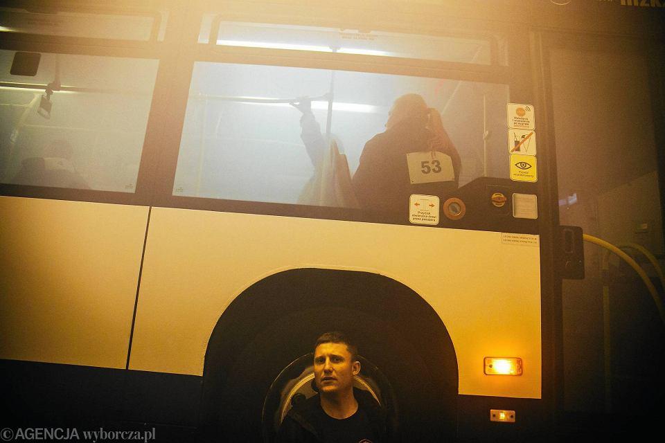 Zdjęcie numer 48 w galerii - Symulacja karambolu z kilkudziesięcioma rannymi. Duże ćwiczenia w tunelu pod Martwą Wisłą [ZDJĘCIA]