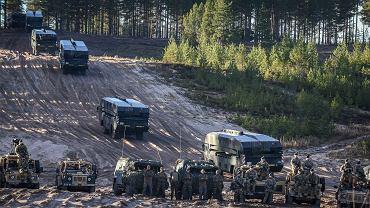 Wojska NATO podczas ćwiczeń w Norwegii