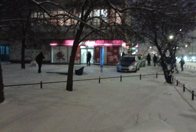 Napad na bank przy Kondratowicza na Bródnie