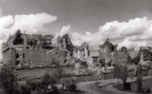 Marienburg Castle 1945