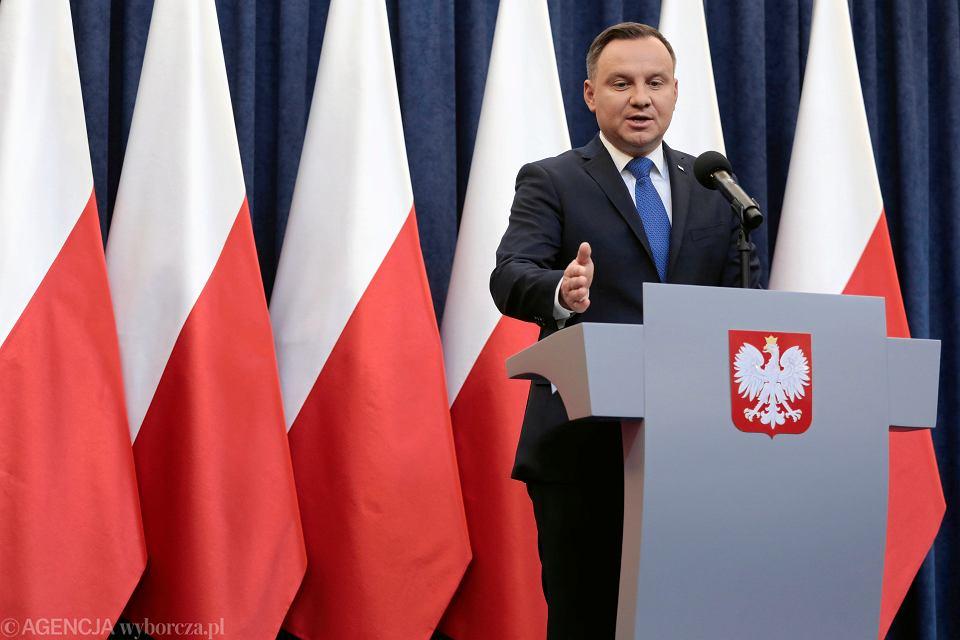 Oświadczenie prezydenta w sprawie nowelizacji ustawy o IPN, Warszawa, 6.02.2018 r.