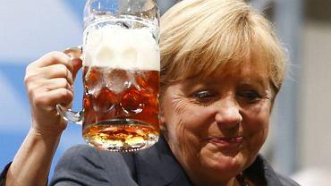 20 sierpnia, Angela Merkel na festynie wyborczym CDU w Dachau
