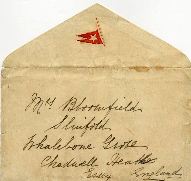 List Esther Hart, która 14 kwietnia 1912 roku pisała z pokładu Titanica