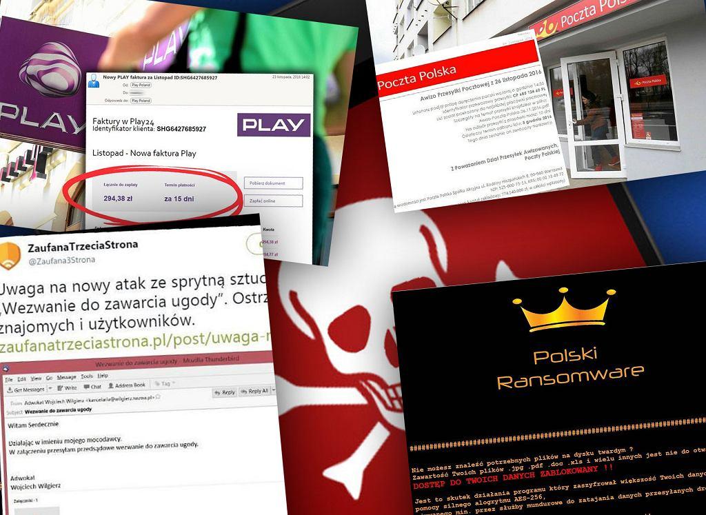 Thomas, autor wielu ataków na polskich internautów, schwytany
