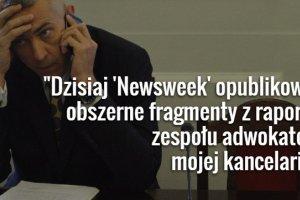 """""""Newsweek"""" opublikowa� """"poufny"""" raport bez podania autora. Ale ten ujawni� si� sam..."""