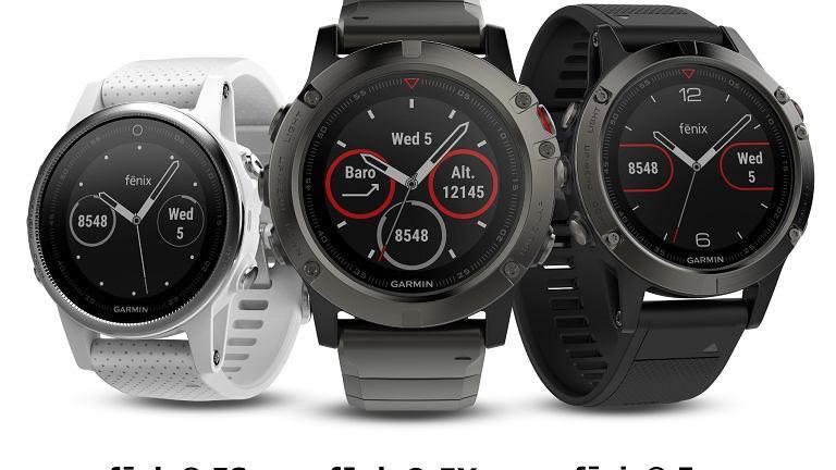 Garmin fenix 5 - multisportowe zegarki GPS dla sportowców i poszukiwaczy przygód