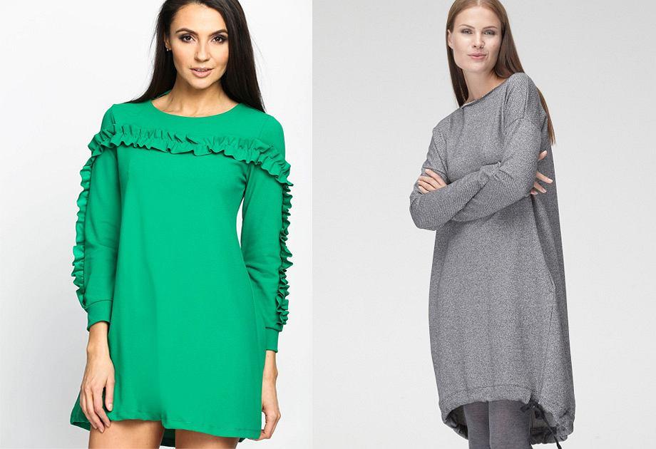 5261e8b094 Sukienka dresowa - wygoda w miejskim stylu