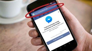 Koniec Messengera wbudowanego w mobilną stronę Facebooka
