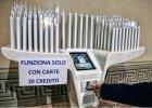Po protestach wy��czono terminal do kart p�atniczych w bazylice