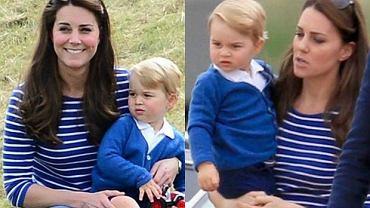 Księżna Kate i książę Jerzy