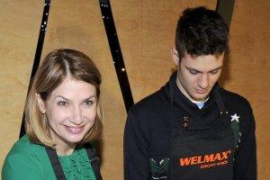 Gra�yna Wolszczak i Filip Sikora