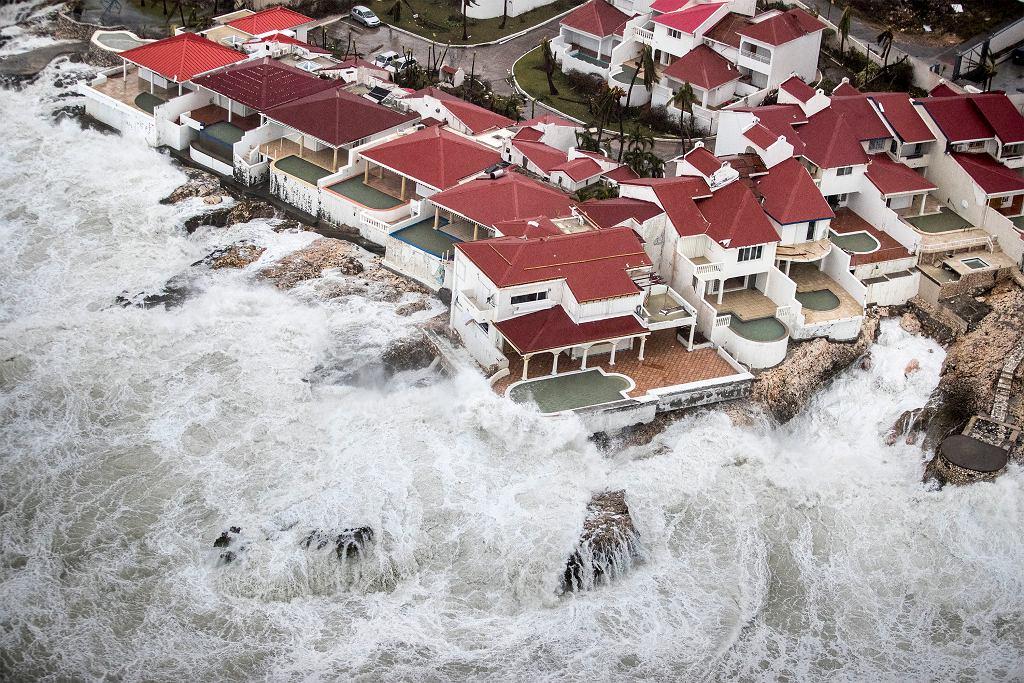 Huragan Irma i jego skutki na Saint Martin