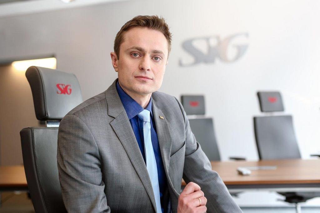 Bartosz Pilch - Dyrektor ds. E-commerce i Marketingu w firmie SIG