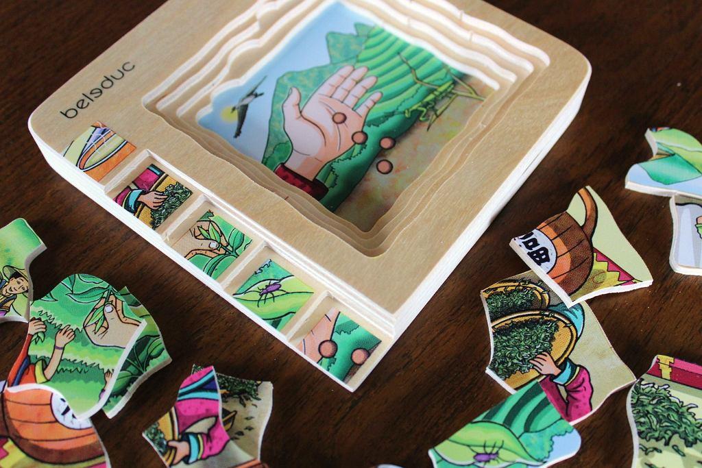 Puzzle warstwowe / fot. Ania Oka