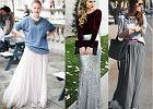 Jak nosić spódnice maxi? Modne propozycje z długą spódnicą w roli głównej