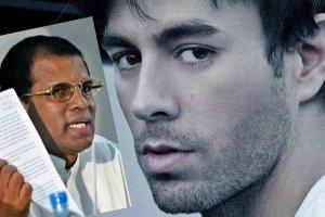 """Enrique Iglesias kontra prezydent Sri Lanki. """"Niecywilizowane zachowanie, wbrew kulturze"""". Posz�o o... Nie zgadniecie"""