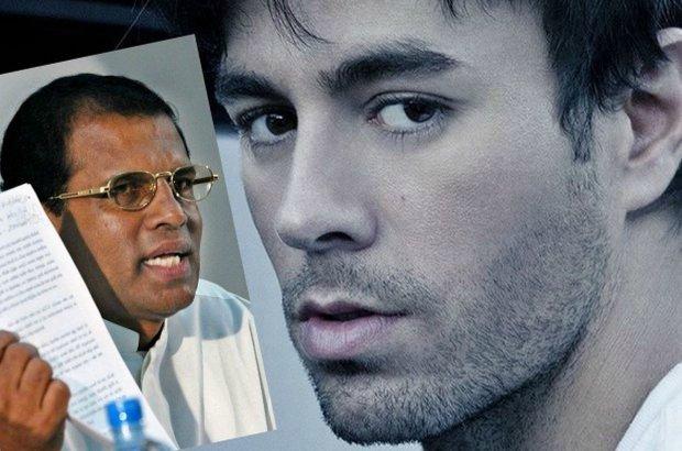 Enrique Iglesias ma już może za sobą czasy świetności, ale wciąż rozgrzewa tysiące fanek na świecie. Jego koncerty to wielkie wydarzenia, ale nie wszystkim się podobają. Prezydent Sri Lanki zdecydowanie nie należy do fanów boskiego Latynosa.