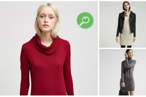 Sukienko-swetry do 200 z�