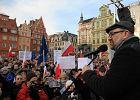 Jacek Głomb z KOD dostał zarzut, że zwołał nielegalną demonstrację